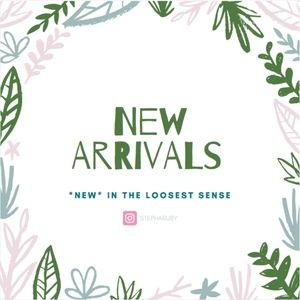 🛍 new arrivals all the time 🎉